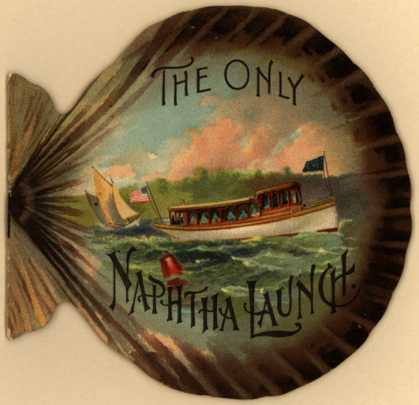 Gas Engine & Power Co.'s Naphtha Launch – The Only Naphtha Launch