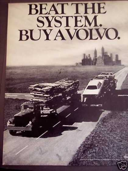 Trucks Hauling Cars Classic Volvo Car (1971)