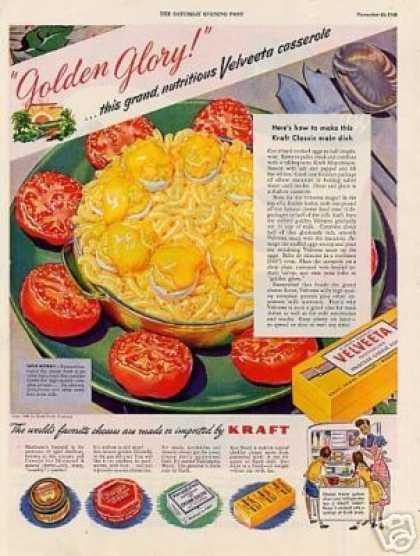 "Kraft Cheese Ad ""Golden Glory... (1948)"