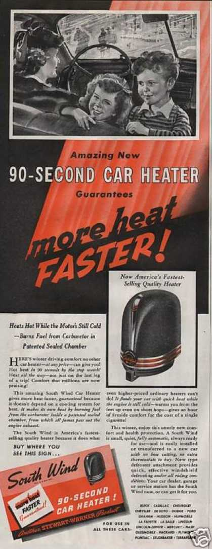 South Wind Car Heater 90 Second (1940)