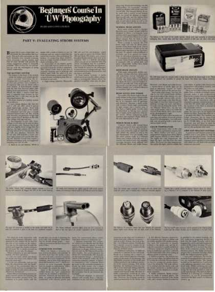 Underwater Photography Strobe Article T (1978)