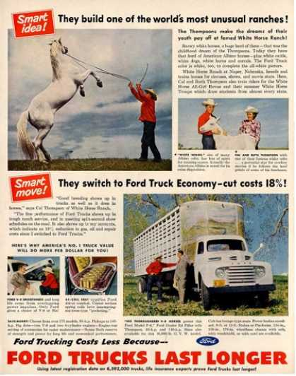 Ford Truck F-6 White Horse Ranch (1951)