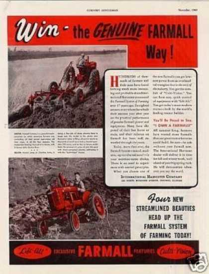 International Farmall Tractors (1940)