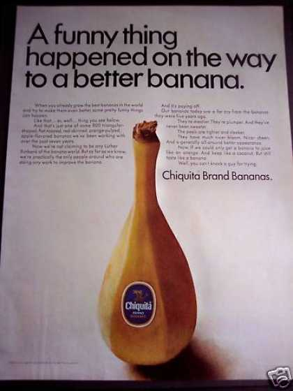 Chiquita : A Better Banana Fruit (1968)