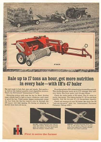 IH International Harvester 47 Baler (1967)