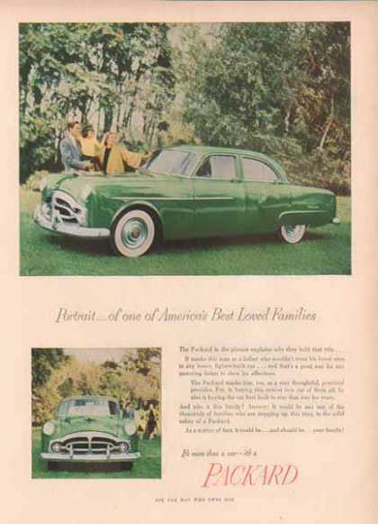 Packard Car – Green 200 Club Sedan (1951)