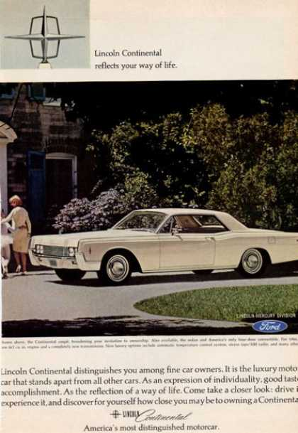 Lincoln Continental Coupe (1966)