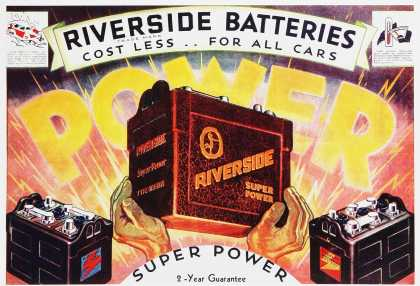 Riverside Super Power Batteries