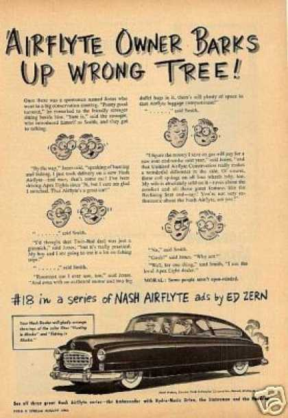 Nash Airflyte Car (1950)