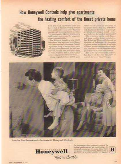 Honeywell – Apartment Controls (1951)