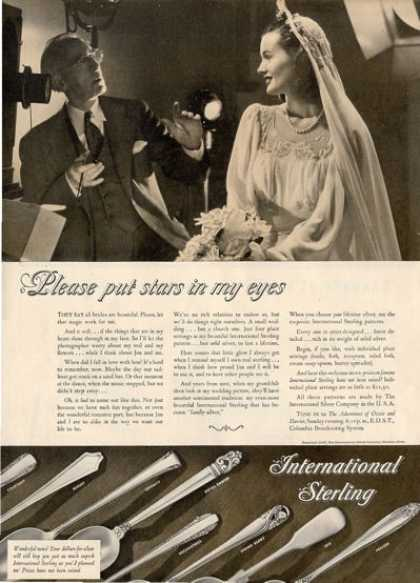 '47 International Sterling Silverware Ad T