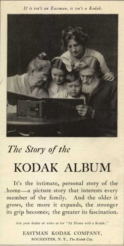 Kodak – The Story of the Kodak Album (1915)