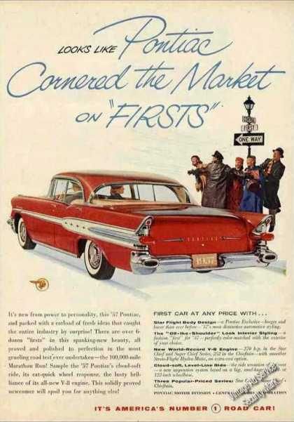 "Pontiac ""Cornered the Market On Firsts"" (1957)"