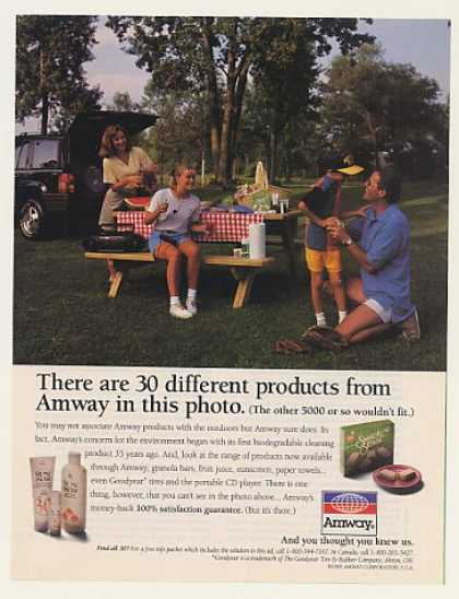 Amway 30 Different Products Family Picnic (1995)