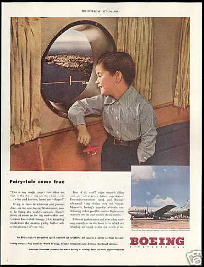 Boeing New Stratocruiser Airplane Vintage (1946)
