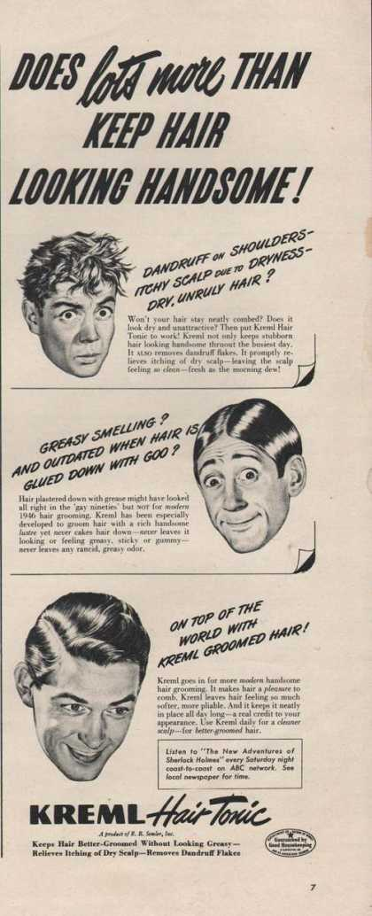 Kreml Mens Hair Tonic (1946)