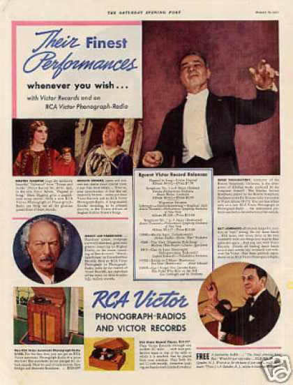 Rca Victor Radio-phonograp (1937)