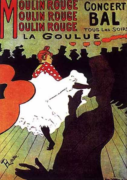 Moulin Rouge by Henri Toulouse-Lautrec (1892)