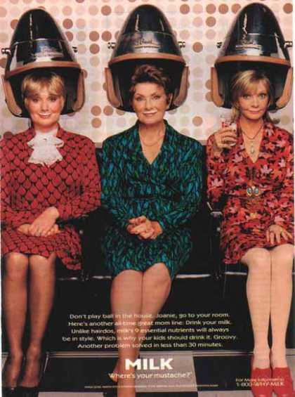 Shirley Jones, Marion Ross & Florence Henderson – Got Milk? (1997)