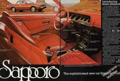 "Plymouth Sapporo ""Introducing Sheer Pleasure"" (1978)"