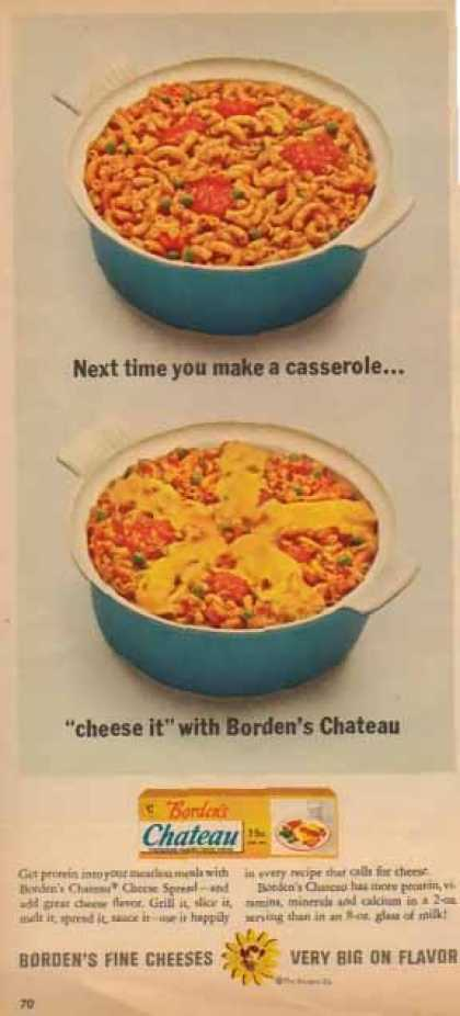 "Borden's Chateau Cheese – ""Cheese It"" (1963)"