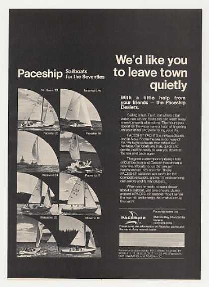 Paceship Yachts Sailboats Northwind Westwind (1971)