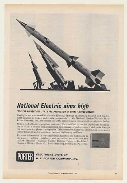 US Army Rockets Porter National Electric (1964)