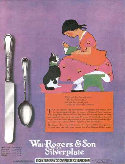 Cutlery Rogers Cats, USA (1920)