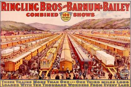 Ringling Brothers and Barnum Bailey Circus: Train