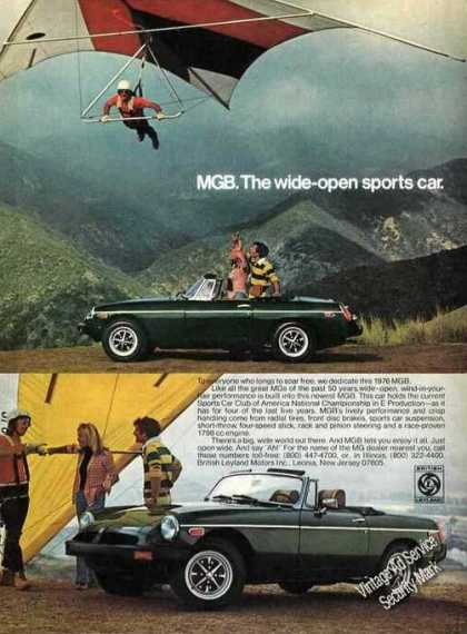 Mgb Sports Car Hang Gliding Theme (1976)