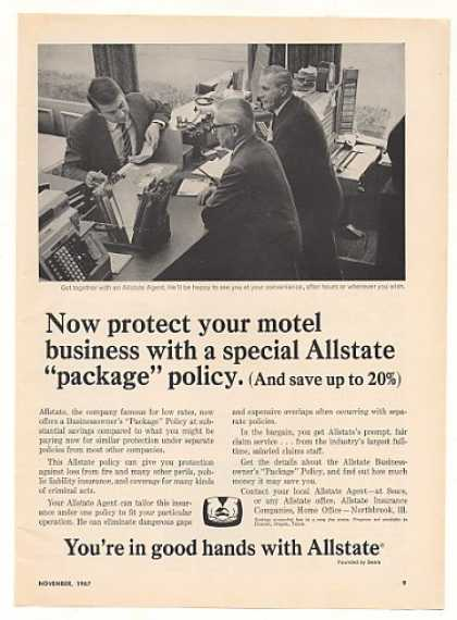 '67 Allstate Insurance Motel Business Package Policy (1967)