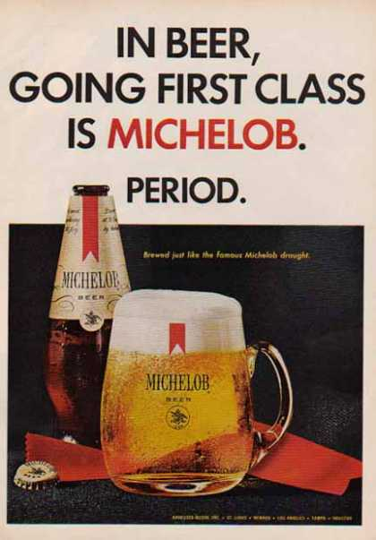 Anheuser Busch Michelob – First Class Period (1967)
