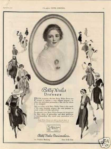Betty Wales Dresses (1921)
