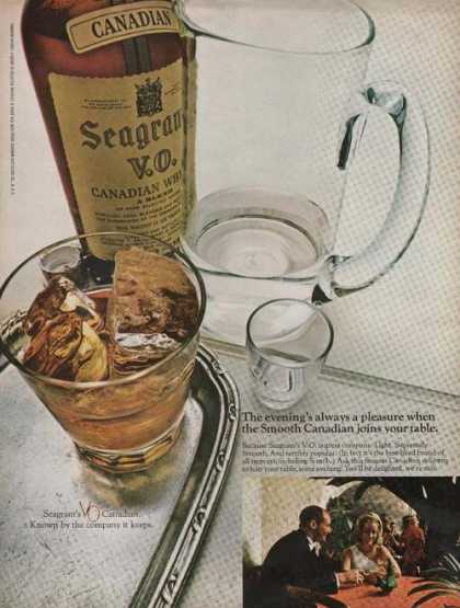 Seagrams Canadian Whiskey (1969)