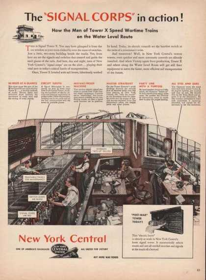 Signal Corps New York Central Railroad (1944)