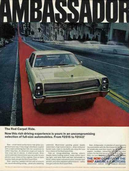 "Amc Ambassador ""The Red Carpet Ride"" (1967)"
