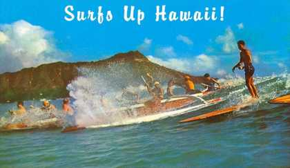Surf's Up Hawaii, Diamond Head