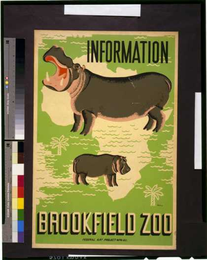 Information – Brookfield Zoo / Waltrip. (1936)