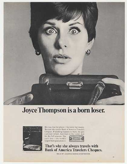 Joyce Thompson Born Loser Bank of America Photo (1967)