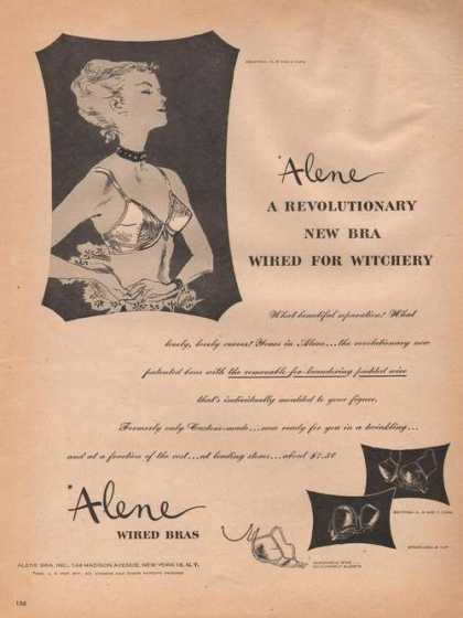 Alene Womens Wired Bras (1946)