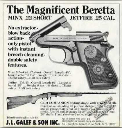 The Magnificent Beretta Minx .22 Short Gun (1981)