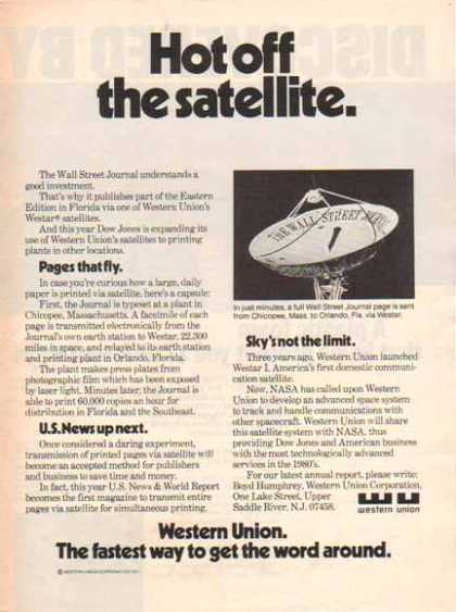 Western Union Corporation – Hot off the Satellite (1977)