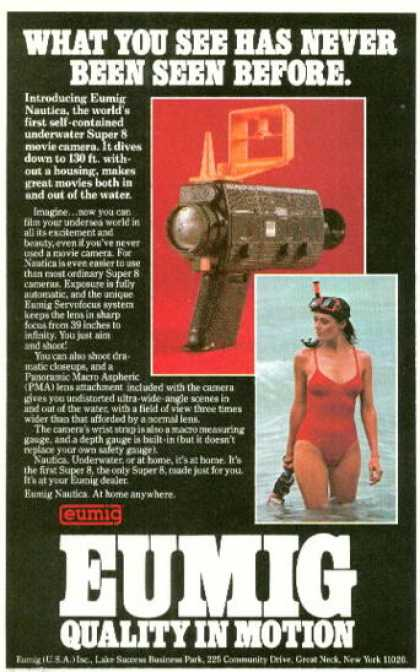 Eumig Underwater Movie Camera (1980)
