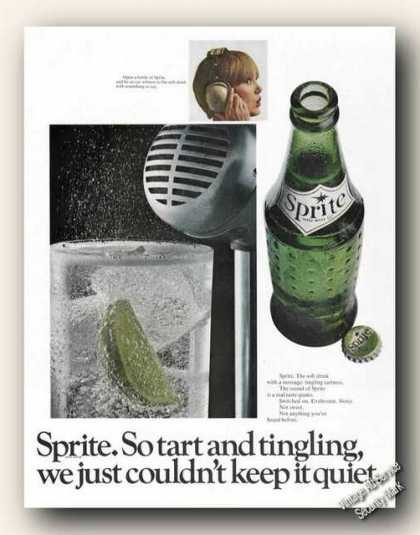 Sprite the Soft Drink With Something To Say (1966)