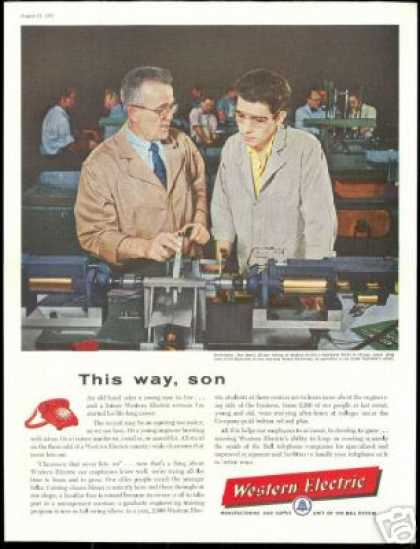 Western Electric Hawthorne Works Chicago (1957)