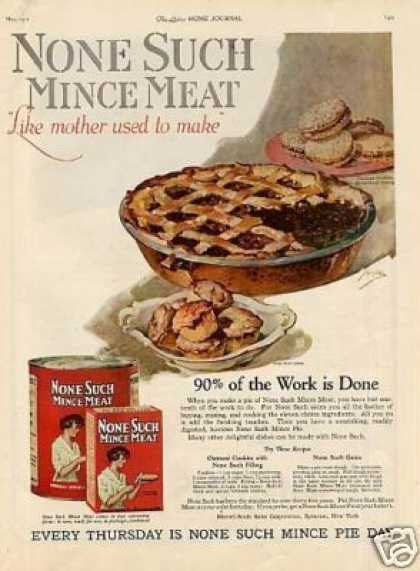 None Such Mince Meat Color (1921)