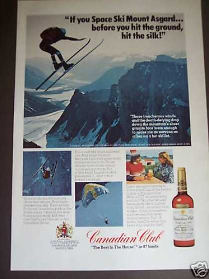 Space Skiing Mount Asgard Photo Cc Whisky (1976)