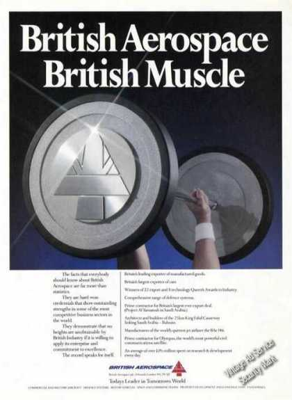 British Aerospace British Muscle Weightlifting (1990)