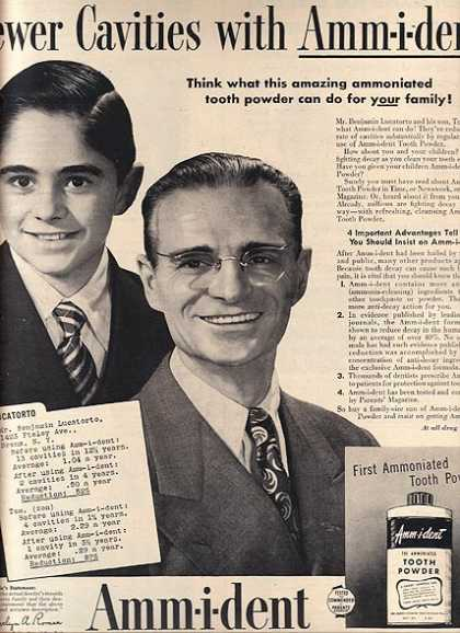 Amm-i-dent's Tooth Powder (1949)