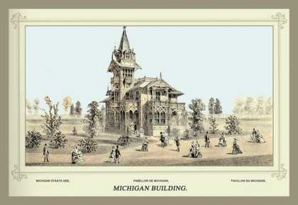 Michigan Building, Centennial International Exhibition (1876)